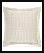 Hotel Collection European Linens Ironwork Matelasse EURO Pillowsham Silver  $120