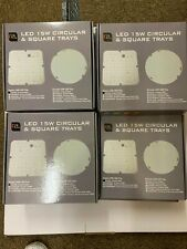 Job Lot 11 LED Gear Tray 15W Replacement For 2D Bulkhead 3500K Square (28w)