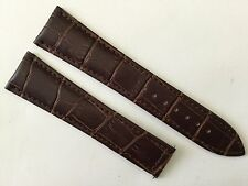 New 22MM Brown Soft Padded Strap Band Bracelet For Omega Speed & Seamaster