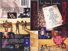 BON JOVI LIVE FROM LONDON VHS PAL VIDEO~ A RARE FIND