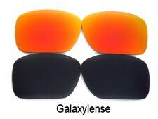 Galaxy anti-sea Lentes COSTA DEL MAR Blackfin Gafas de sol color negro / Rojo