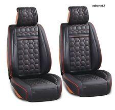 Noir Rouge Couverture Sieges 1+1 En Cuir Simili Pour Nissan Qashqai Juke  Micra 1684d220058f