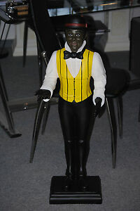 Butler Figur XL Diener Stummerdiener Ablage Statue 94 cm Dekoration Skulptur