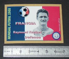 FRANCE R. KAELBEL AS MONACO STRASBOURG COUPE MONDE FOOTBALL 1958 STYLE PANINI