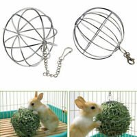 Hanging Ball Toy Guinea Pig Hamster Rat Rabbit Pet Sphere Feed Dispenser