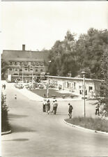 Talsperre Kriebstein bei Waldheim, Mittweida, HO-Gaststätte und Ladenstraße