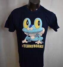 Pokemon Mens #TeamFroakie Froakie Shirt New L