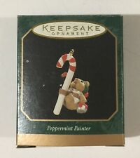 Hallmark Keepsake Miniature Ornament Peppermint Painter Handcrafted Dated 1997