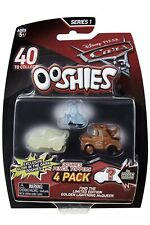 JAKKS OOSHIES Pencil Toppers Disney Pixar CARS 3 Mini Figures 4 Pack  New