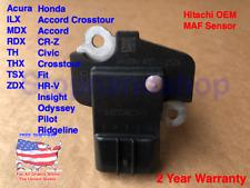 New OEM Hitachi MASS AIR FLOW SENSOR MAF for Honda Acura 37980-RC0-M01 AFH70M-41