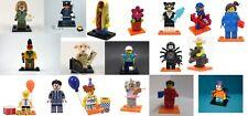 LEGO minifigures series 10, 11, 15, 18 + Harry Potter, Batman Movie, Simpsons
