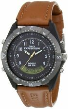 Timex Expedition Analog-Digital Black Dial Men's Watch-TW00MF104 Free Shipping