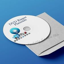 2018 DVD Ripper Platinum Video Converter Backup Software Copy Windows PC