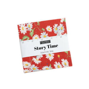 American Jane Story Time Charm Pack - Moda Charm Pack 5 inch Squares
