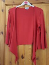 Per Una Red Shrug Cardigan, Size 12