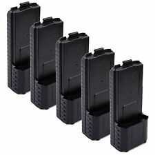 5Pcs BAOFENG AAX6 Extended Battery Case/Shell for Radio BF-UV5R TONGFA TYT TH-F8