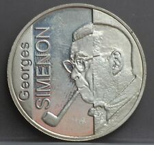 Belgie  Belgium 10 euro 2003 100th anniversary birth of Georges Simenon - silver