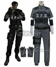 Anime Resident Evil 4 RPD Leon Scott Kennedy Cosplay Costume