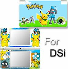 Pokemon SKIN DECAL VINYL COVER STICKER f NINTENDO DSi 2