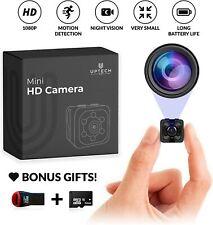 Small Hidden Mini Spy Camera Secret Tiny Spy Cam for Home Car Motion Detection