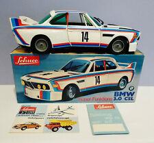 """1970s SCHUCO W.Ger Plastic - BattOp ~ BMW 3.0 CSL COUPE RACER - MINT / BOX - 12"""""""