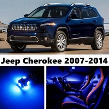 14pcs LED Blue Light Interior Package Kit for Jeep Cherokee 2007-2014