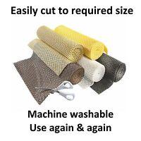 Non Slip Matting Roll Rug Grip Kitchen Cupboard Rubber Drawer Liner Tool Box