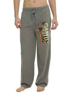 Mens Womens NEW Disney Gravity Falls Light Gray Pajama Lounge Pants Size XS-2XL
