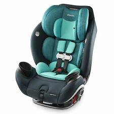 Evenflo Gold SensorSafe EveryStage Smart All-in-One Convertible Car Seat, Sapphi