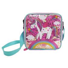 Polar Gear Unicorn Confetti Lunch Bag Kids Girls Lunch School Pack Up Glitter
