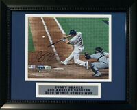 Corey Seager Autographed Dodgers 2020 World Series 8x10 Framed Photo Fanatics