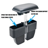 Adjustable Car Organizer Armrest Storage Seat Gap Filler Black for most car