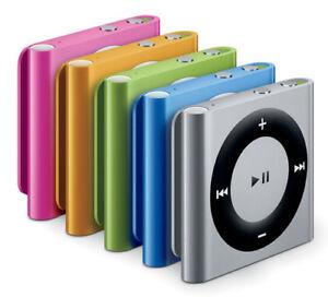 Swim iPod Shuffle MP3 Player & Earphones & Buds 100% Waterproof, Basic Bundle