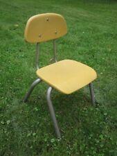 vintage Industrial Child School Chair
