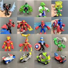 Playskool Marvel Super Heroes Power Up Iron Man Hulk Spider-man Squad Figure Toy