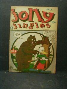 Fall, 1944 JOLLY JINGLES COMICS Vol. 1 No. 15