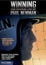 PAUL NEWMAN: WINNING - THE RACING LIFE OF (2015): R1 DVD - Documentary - NEW