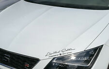 Limited Edition powered by Seat Sport Auto Aufkleber Folie Sticker Sports Mind