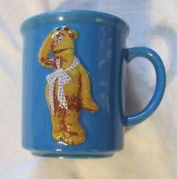 MUPPETS-Fozzie Bear Sculpted/Embossed Ceramic Mug Henson 2002 Encore Group