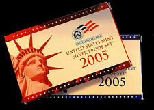 2005 S United States Proof Silver & Clad Set Uncirculated
