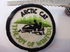 2X Arctic Cat Original The Joy Of Winter embroidered emblem badge