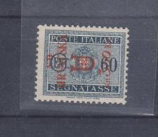 CROATIA,WW II,ITALY SPLIT local issue ,postage due 3.50 kn /60 c,MNH