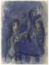 Marc Chagall original Bible lithograph 76877979