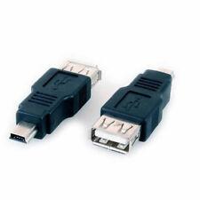 CONVERTITORE USB DA FEMMINA ADATTATORE uscita a MINI USB MASCHIO ingresso 5pin y