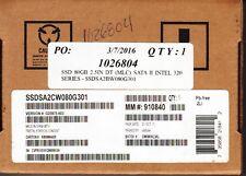 "INTEL X25-M SSDSA2MJ080G2C1 80GB 2.5"" SATA-3GB/S SSD DRIVE - NEW!"