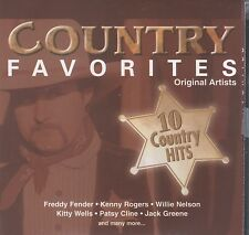 10 Country Favorite Hits - Various Artist cd