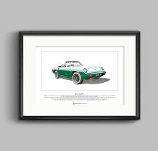 Jensen-Healey Mk1 Limited Edition Fine Art Print A3 size