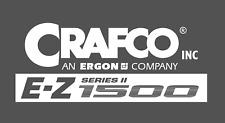 Logo decal  CRAFCO EZ 1500
