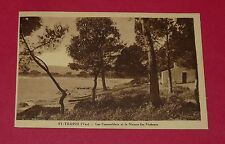 CPA CARTE  1910-1920 FRANCE VAR 83 SAINT-TROPEZ CAUNOUBIERS MAISON DES PECHEURS