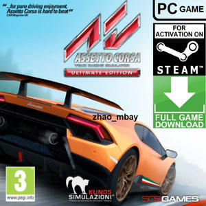 Assetto Corsa ULTIMATE EDITION Steam Key GLOBAL PC GAME FAST DELIVERY Racing Sim